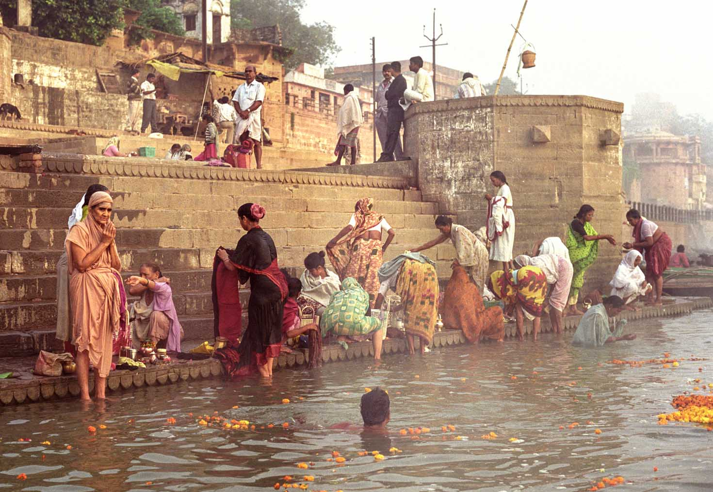 The sacred Ganges, Varanassi, India