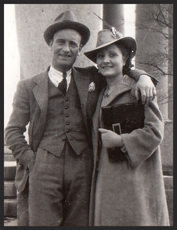 Ben & Nina DiBartolo April 7th 1940. 74 years later on this date our new website was launched in honor of them.
