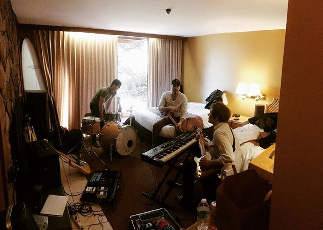 Hotel rehearsals in Monterey, CA