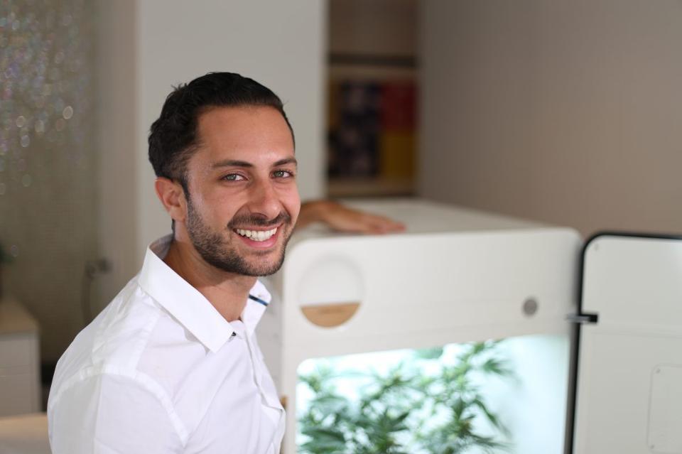 Yoni Ofir, CEO de LEAF. Foto de LEAF para Forbes.