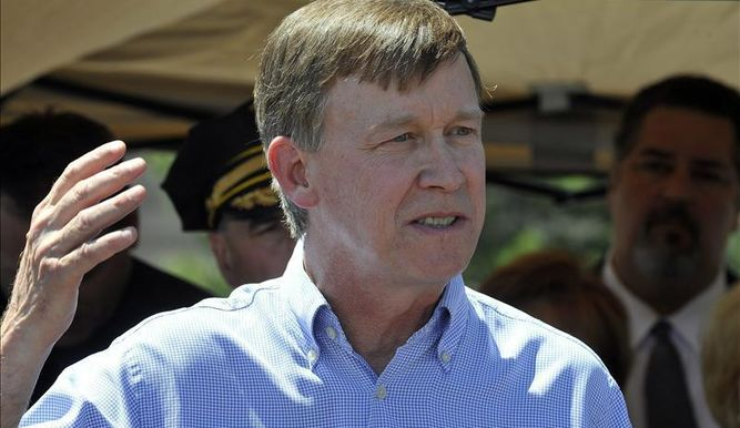 El gobernador de Colorado. John Hicklenlooper.  Foto de EFE.