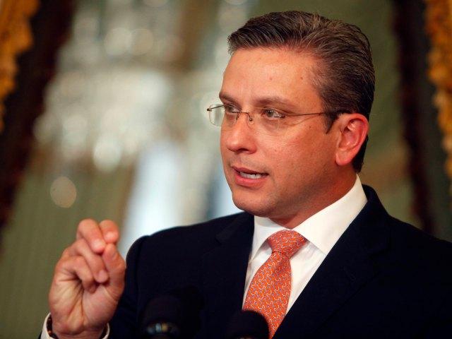 Alejandro García Padilla. Gobernador de Puerto Rico.
