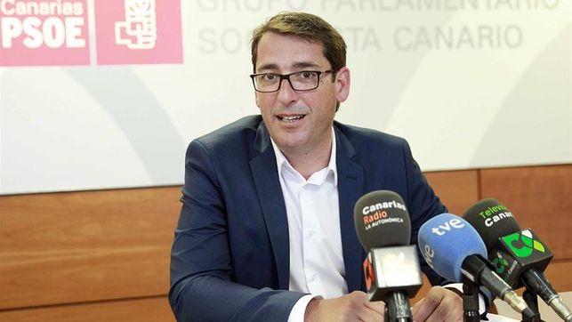 Ignacio Álvarez Lavandera, portavoz del PSOE en Canarias.