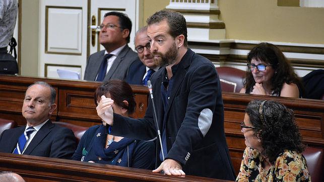 Juan Márquez Fandiño, portavoz de Podemos en Canarias.