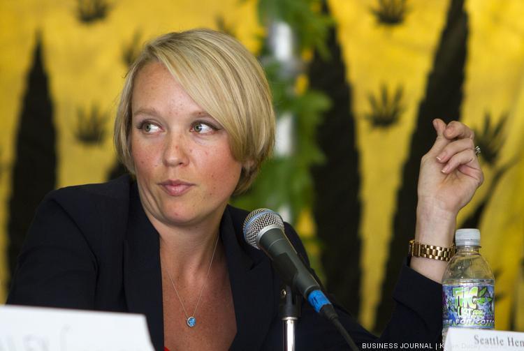 Hilary Bricken, abogada de Seattle especializada en Cannabis.