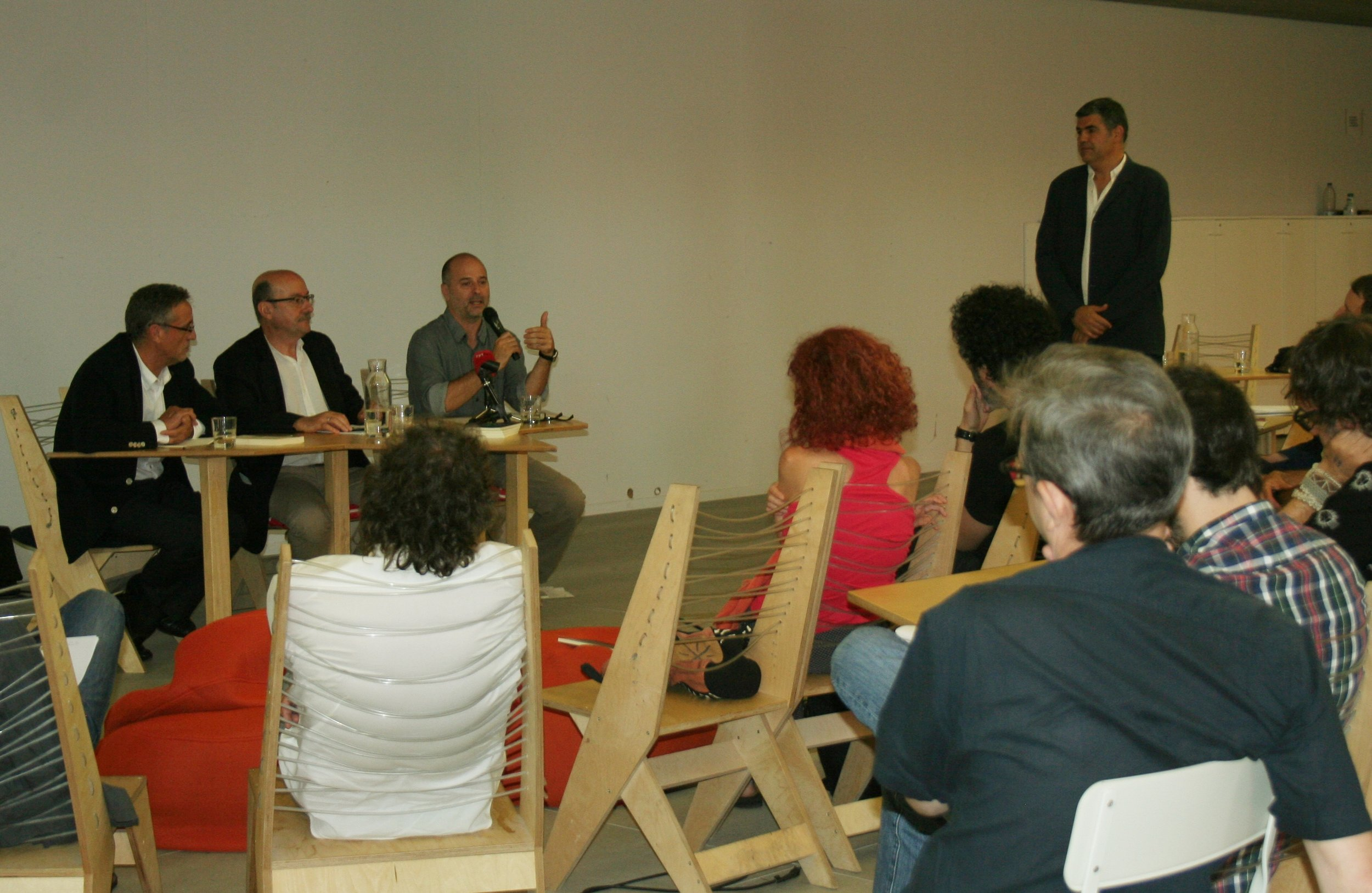 La presentación tuvo lugar en el espacio cultural 'Matadero de Madrid'.