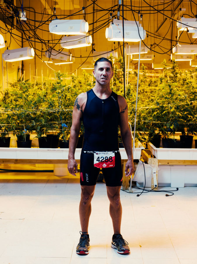 Clifford Drusinsky, triatleta.