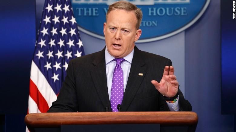 Sean Spicer, Secretario de Prensa de la Casa Blanca.
