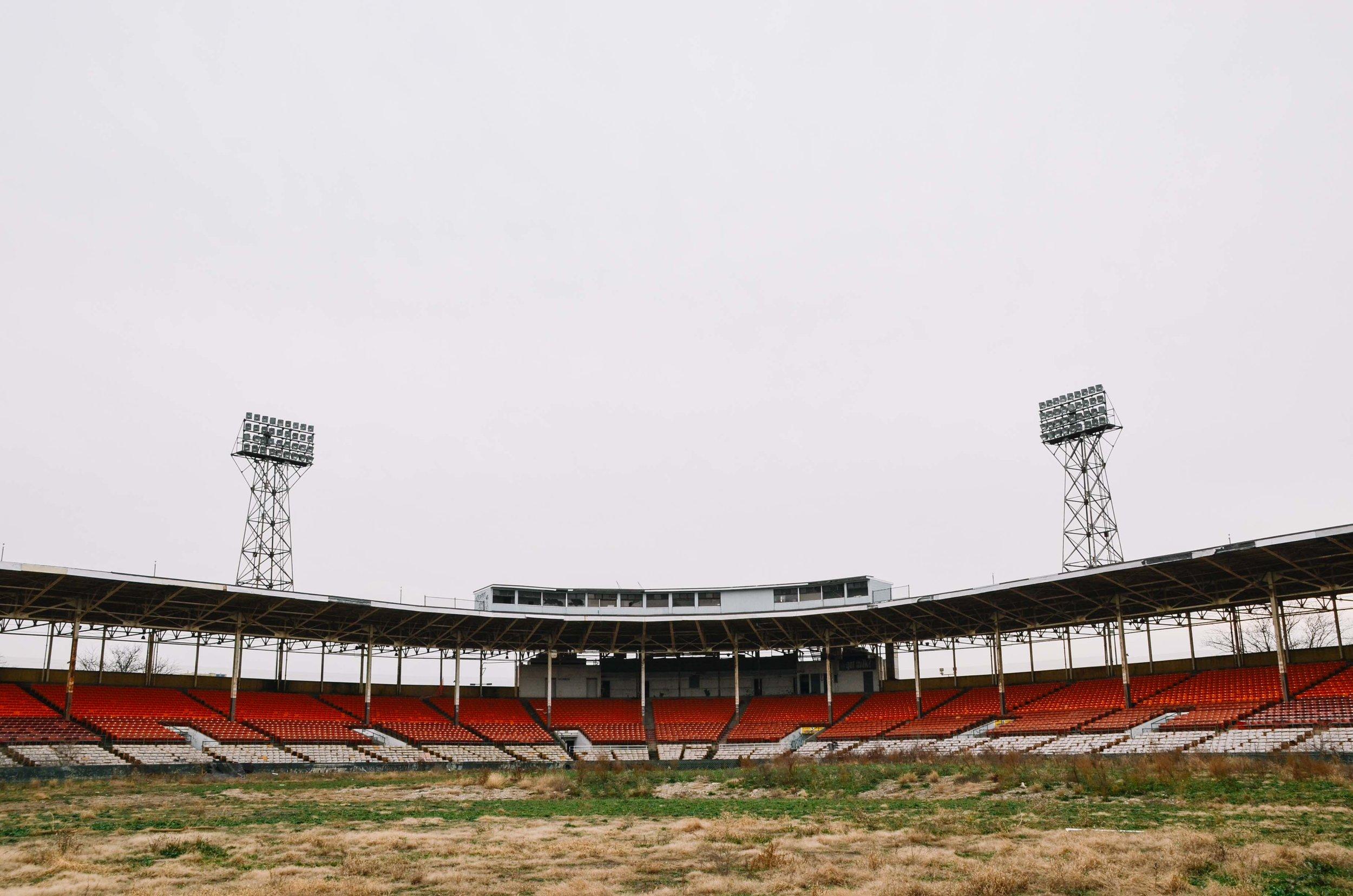 bush stadium seat salvage -