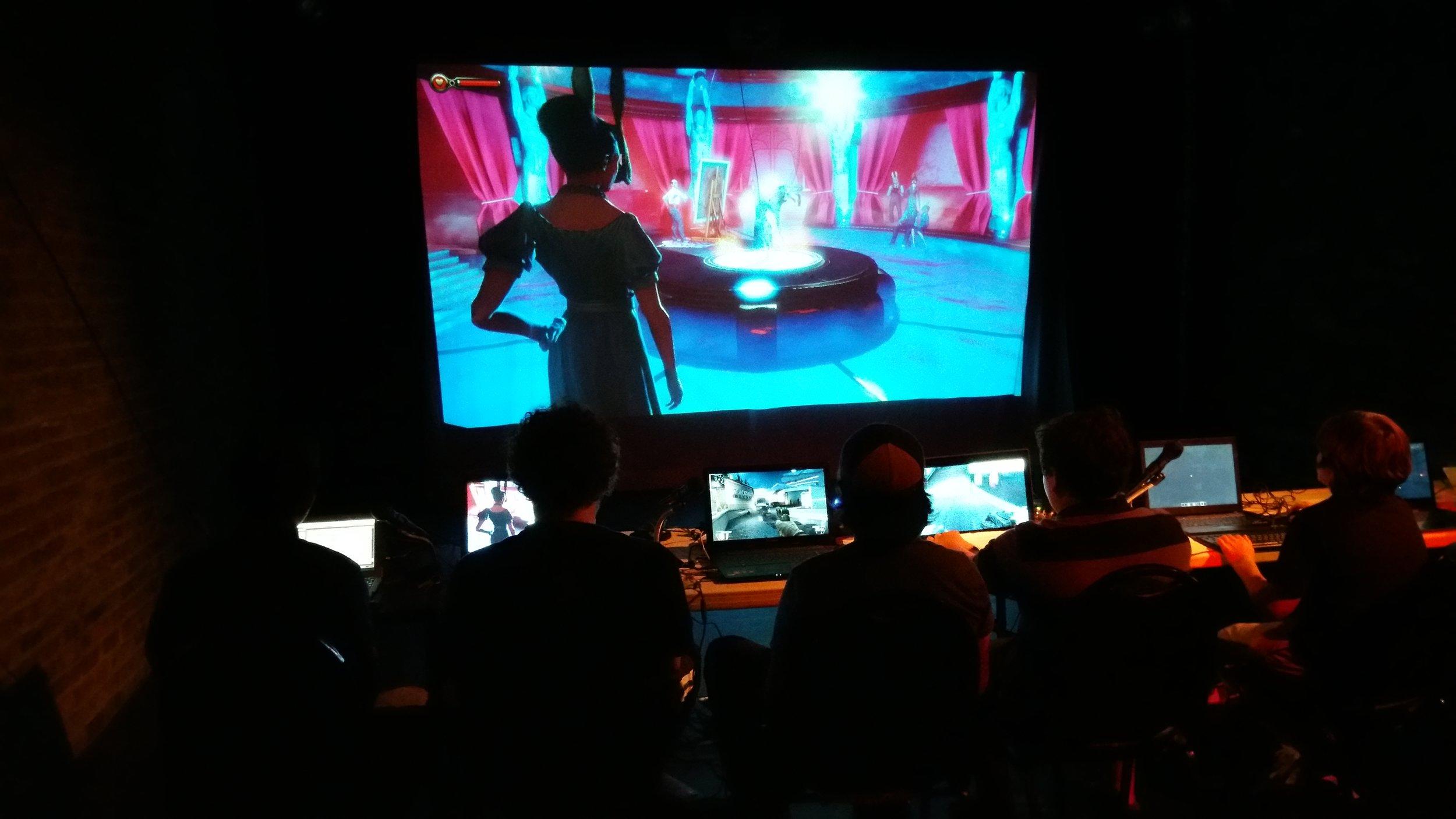 bioshock | poe | masque | video game | theater | machinima