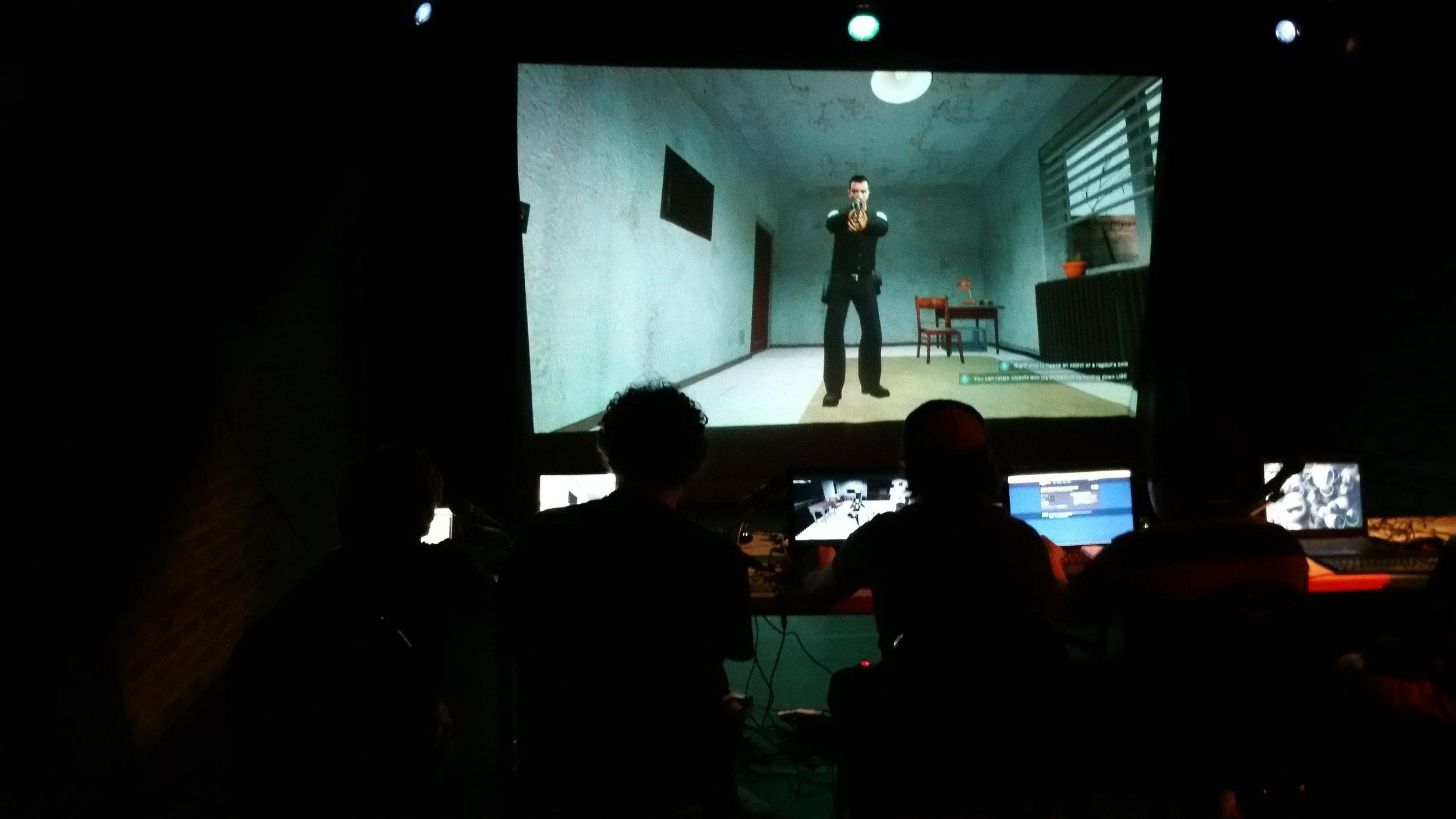 telltale heart | edgar allan poe | garry's mod | video game | theater