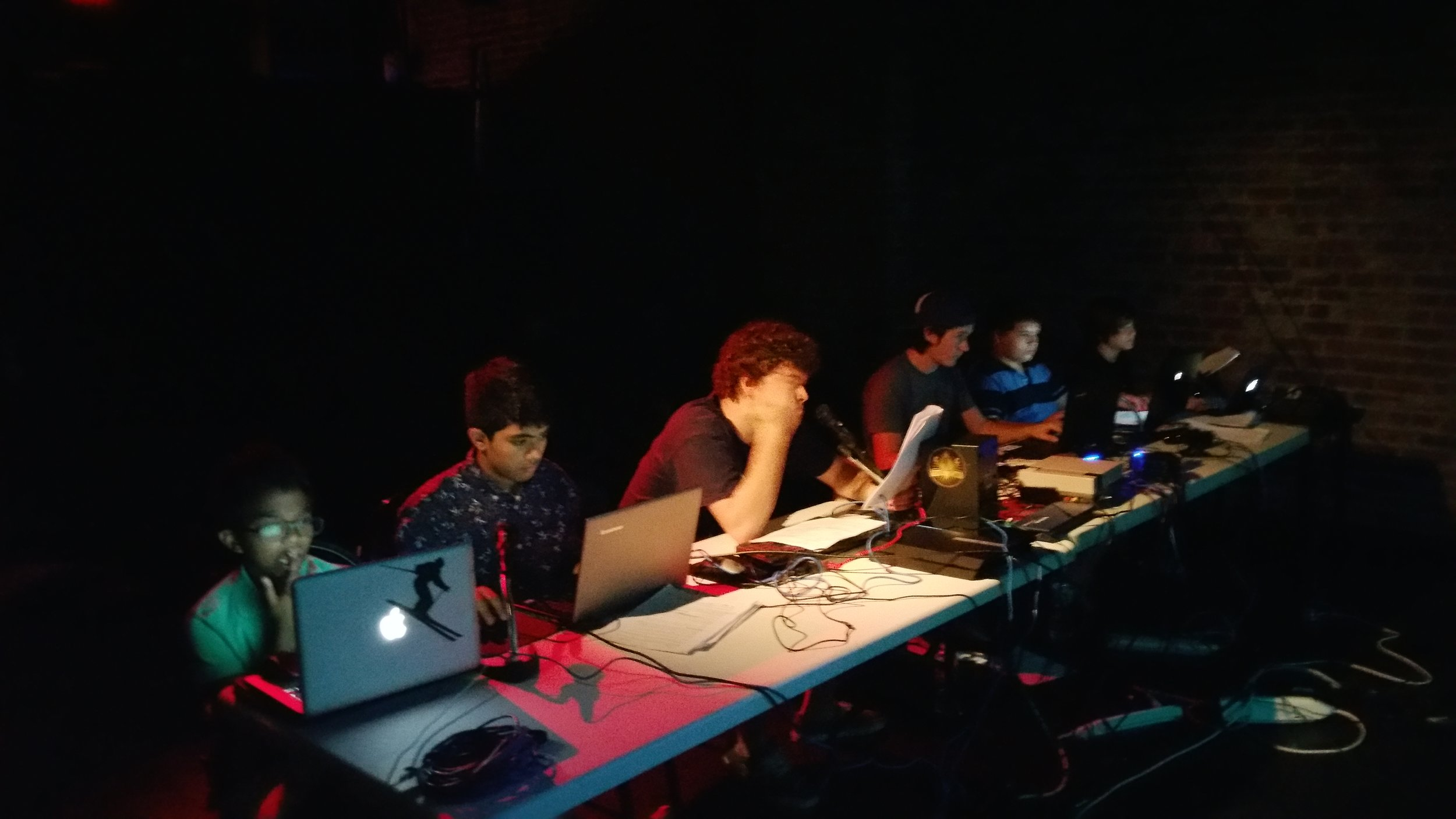 puppeteers | video game | theater