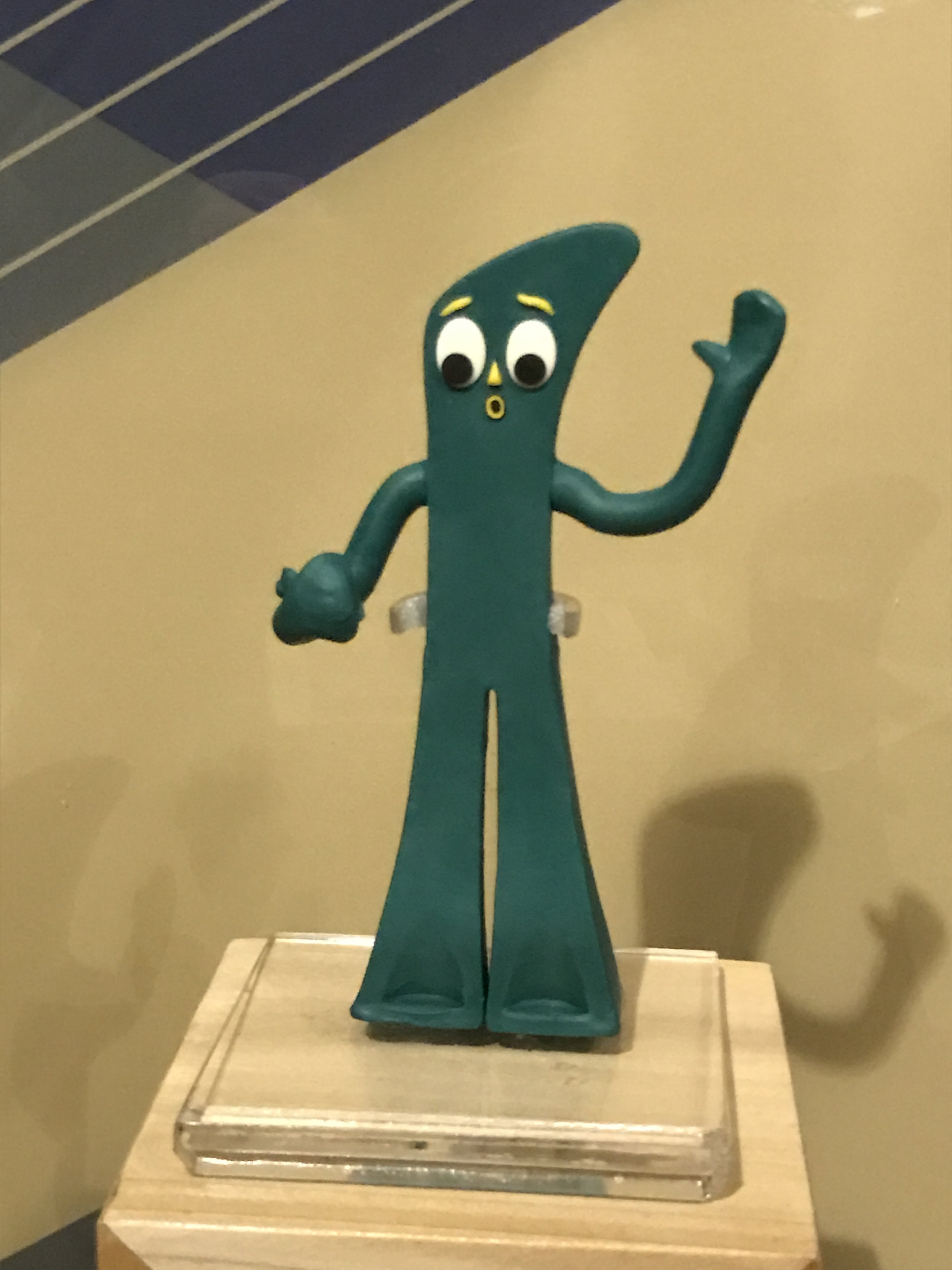 stop motion gumby