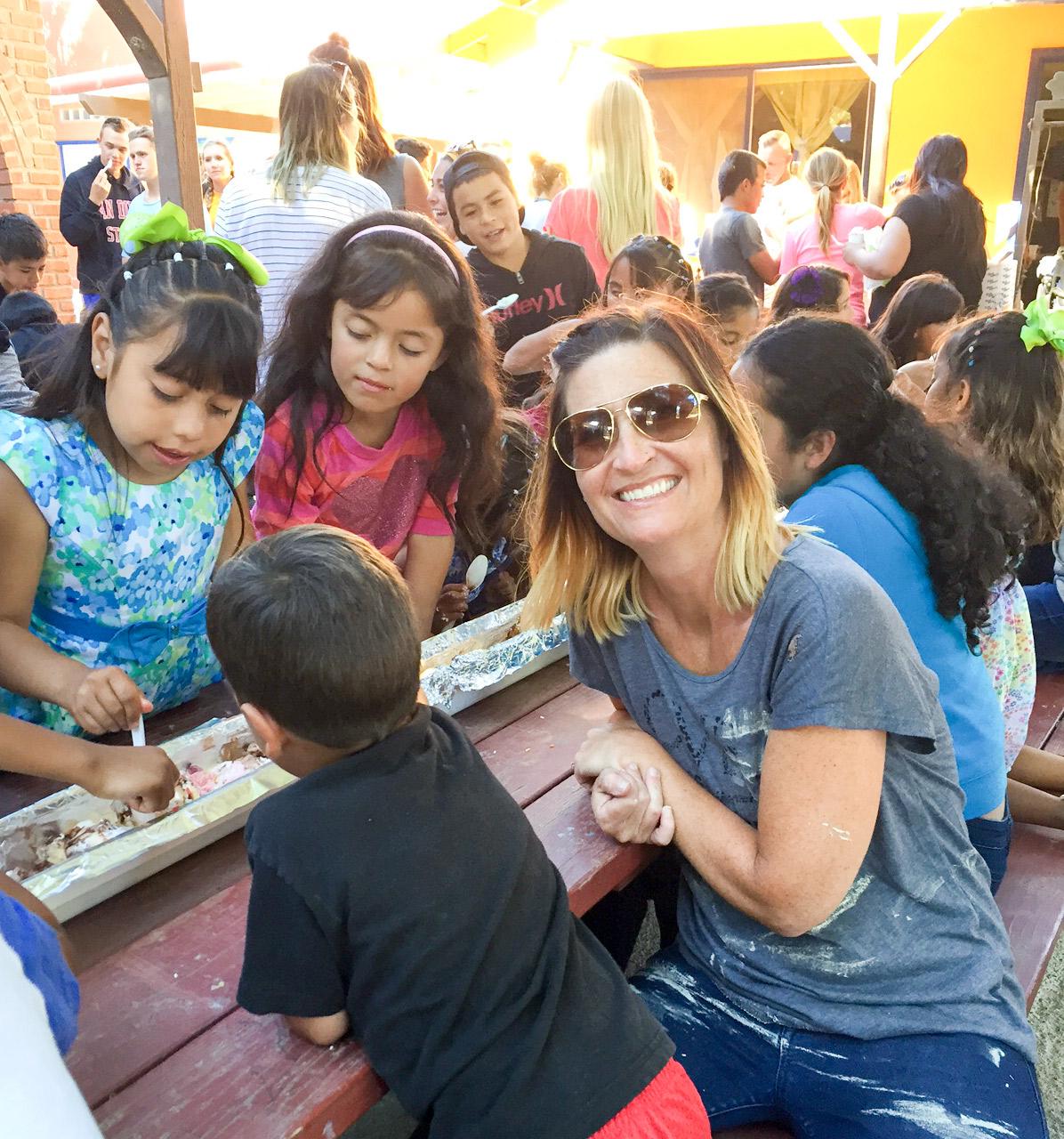 Tijuana Canyon Ice Cream Sundaes