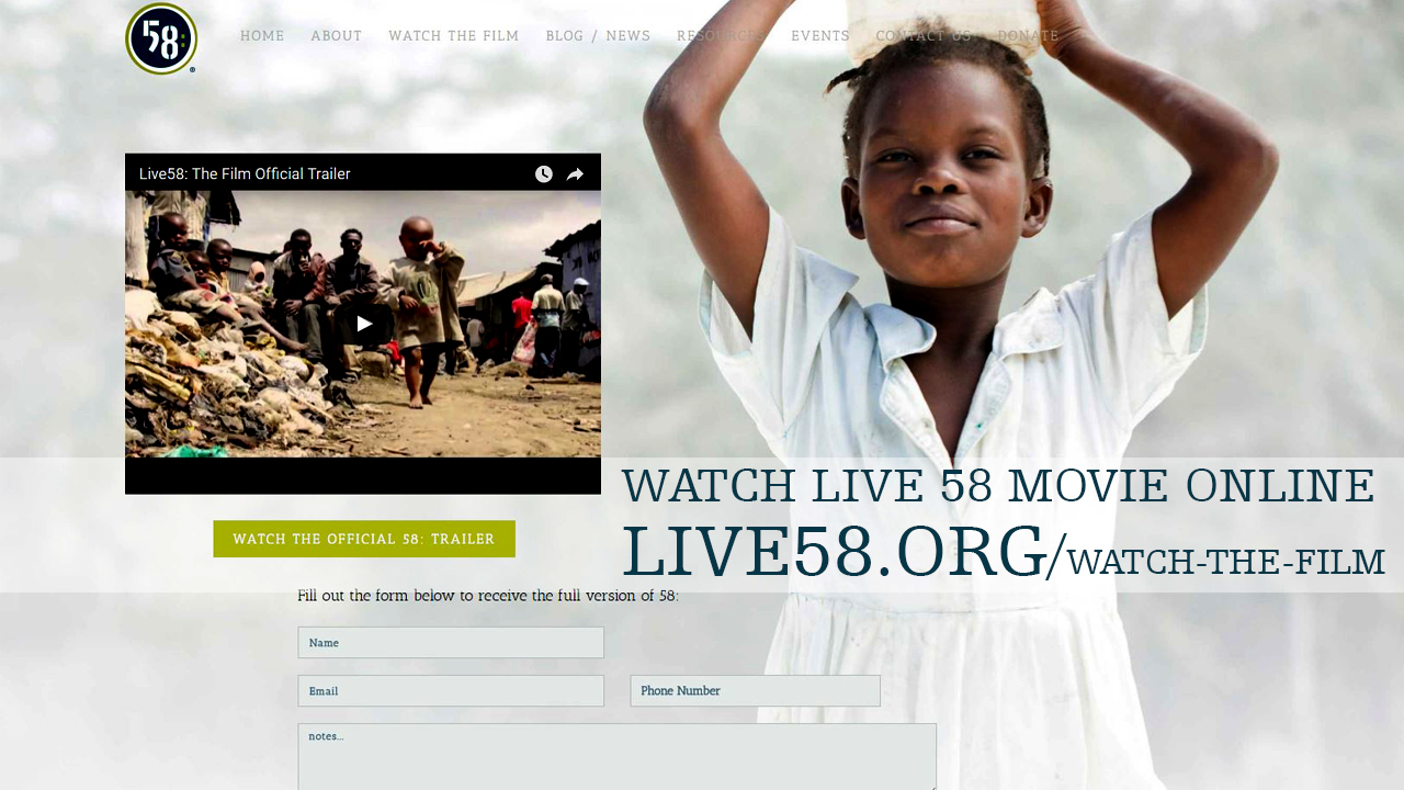 Watch Live 58: The Film Online