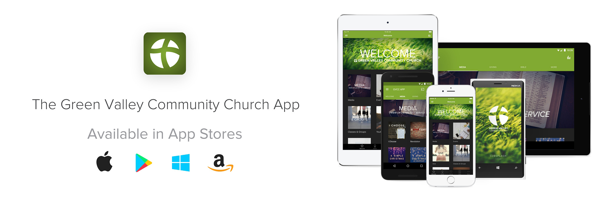Get the GVCC App at your  app store!