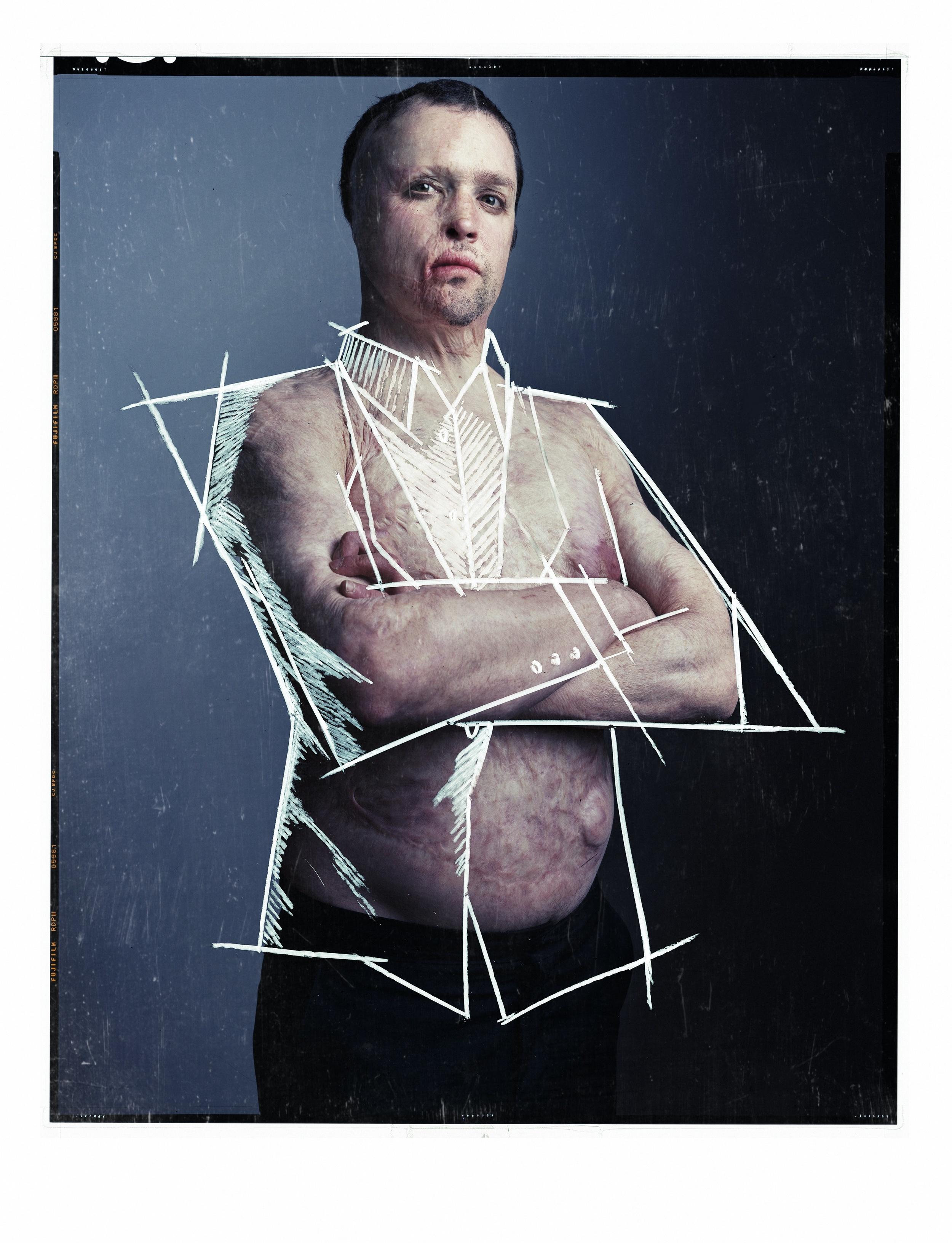 Ben   Deutsch Magazine    MODEL:Ben Mathis    STYLING:Anatolli Smith    MAKEUP:Lucie Nguyen    DRAWING ON LAST PHOTO:Ben Mathis