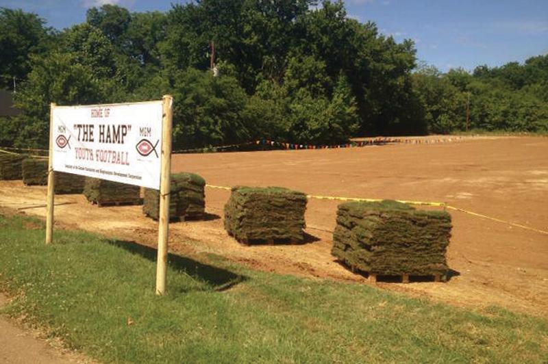 """""""The Hamp"""" field initiative began in 2013"""