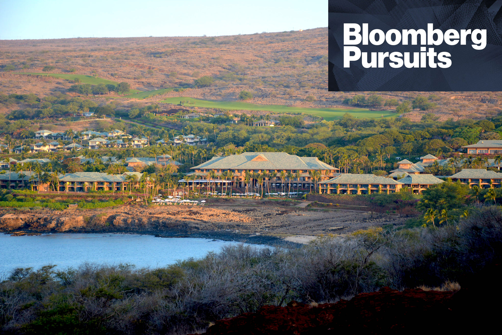 Larry Ellison's Private Eden Is Open for Business - My Bloomberg Pursuits feature on the Oracle billionaire's new Four Seasons beach resort on Lanai — an island in the Hawaiian chain that he owns.(Bloomberg — April 2016)