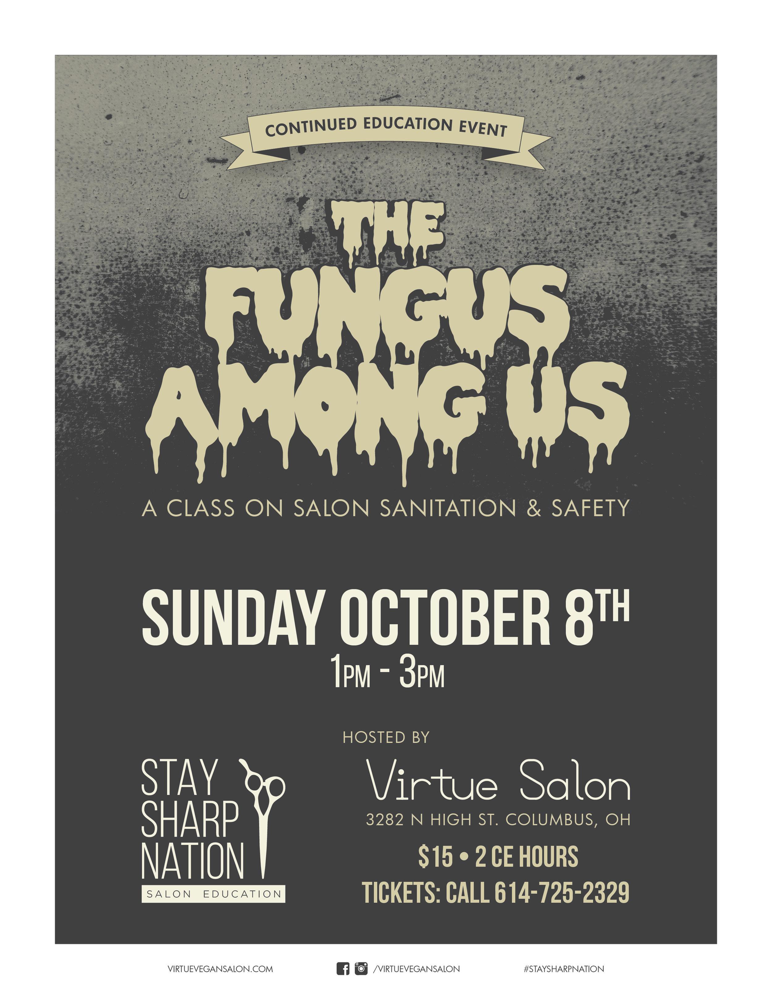 Stay Sharp Fungus Among Us 2017-10-08 Promo Poster-01.jpg