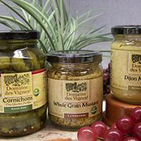 Domaine Des Vignes Cornichons & Mustard assorted size/flavorss