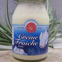 Crème Fraîche 6 oz bottle UK