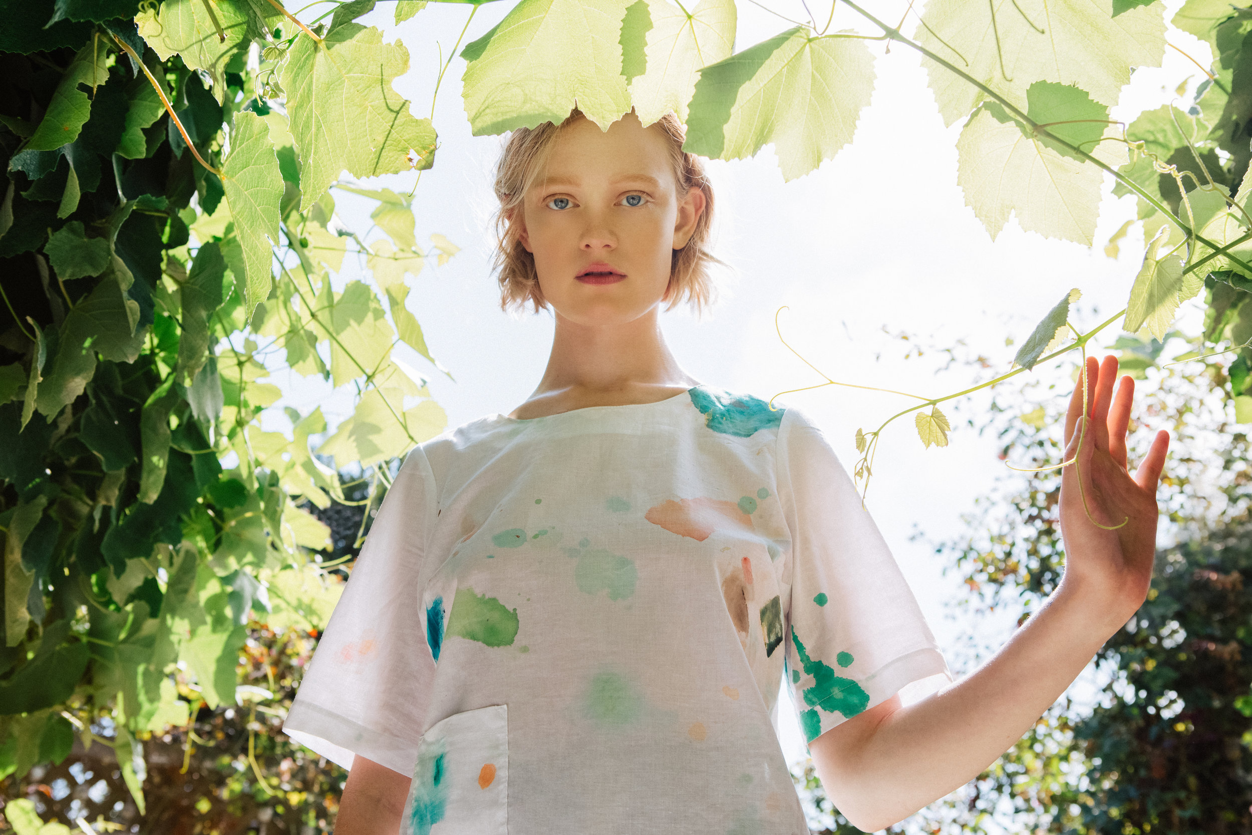 Painter's Blouse - Jill Aiko Yee x Dani Schafer - Photo: Joy Newell