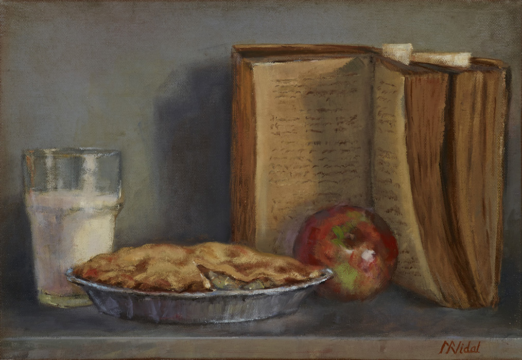 Apple Pie - 'recipe series'   SOLD