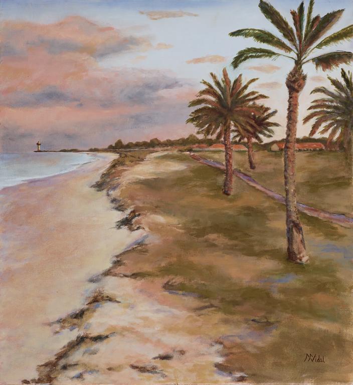 RT Beach Promenade, Southward