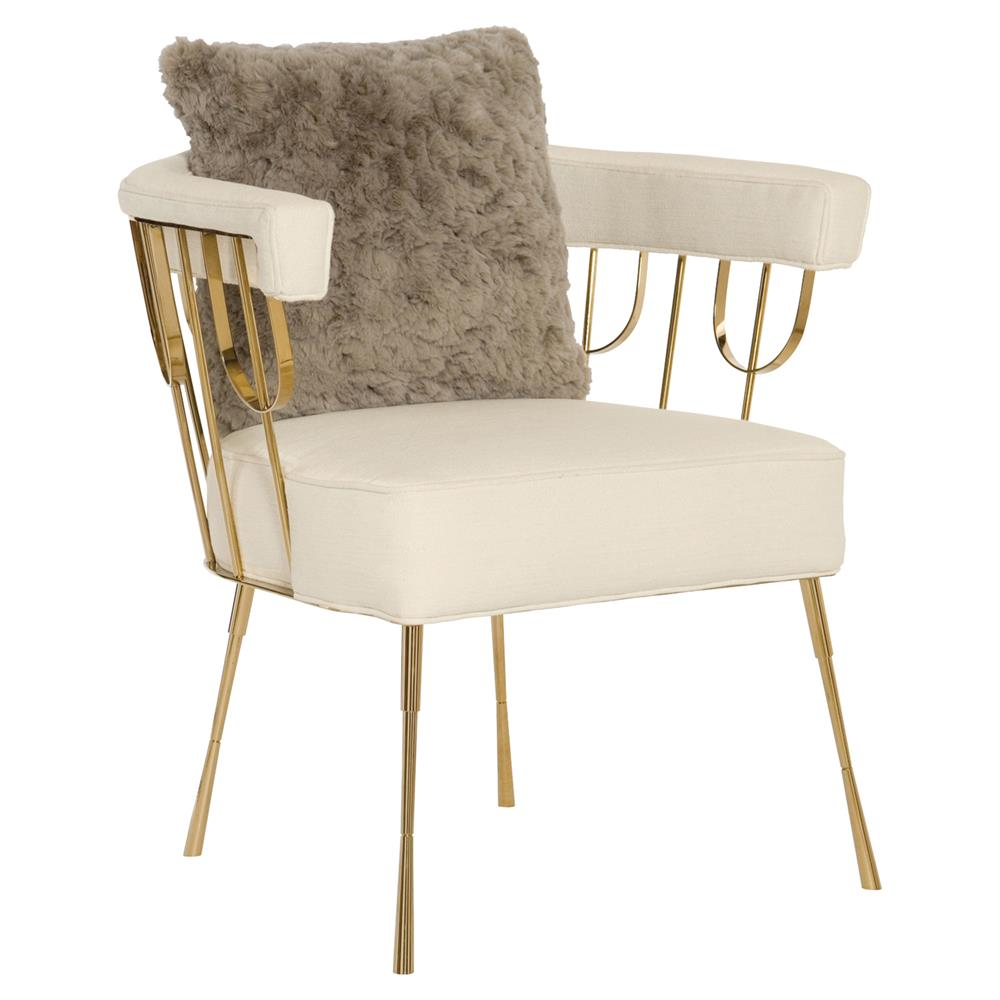 Ingrid Regency Upholstered Chair $1,786.00