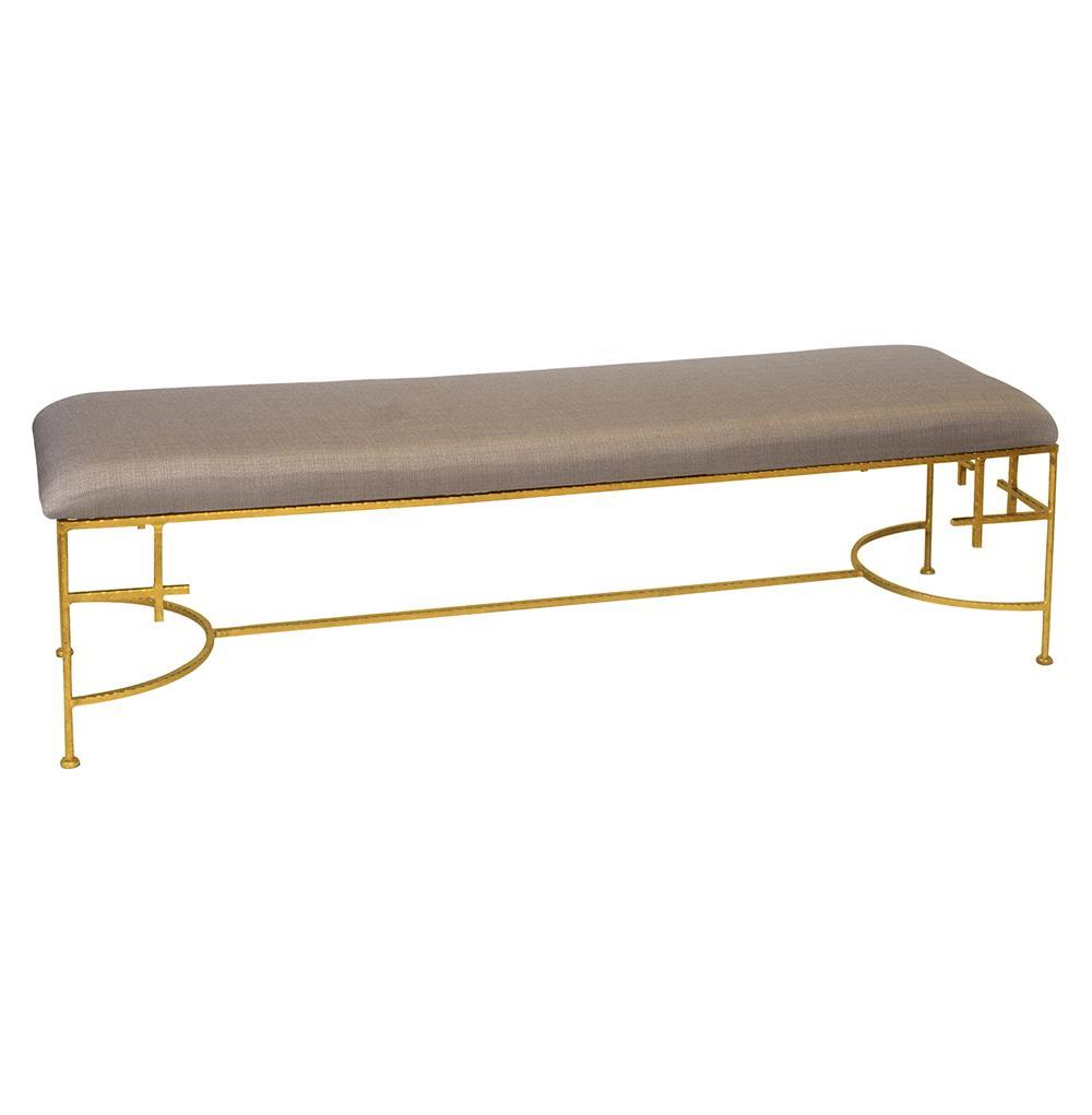 Limelight Linen Bench $1,063.00