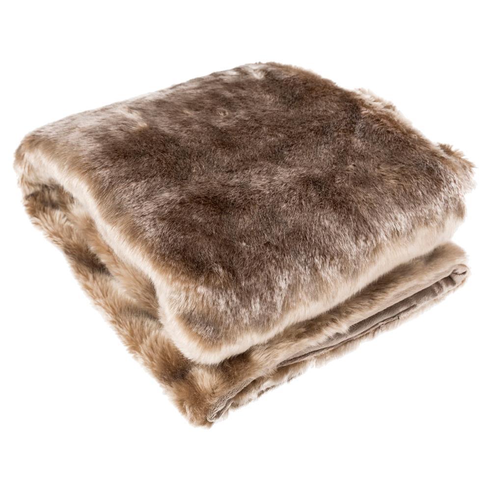 Wilke Lux Faux Fur Throw Blanket $124.00