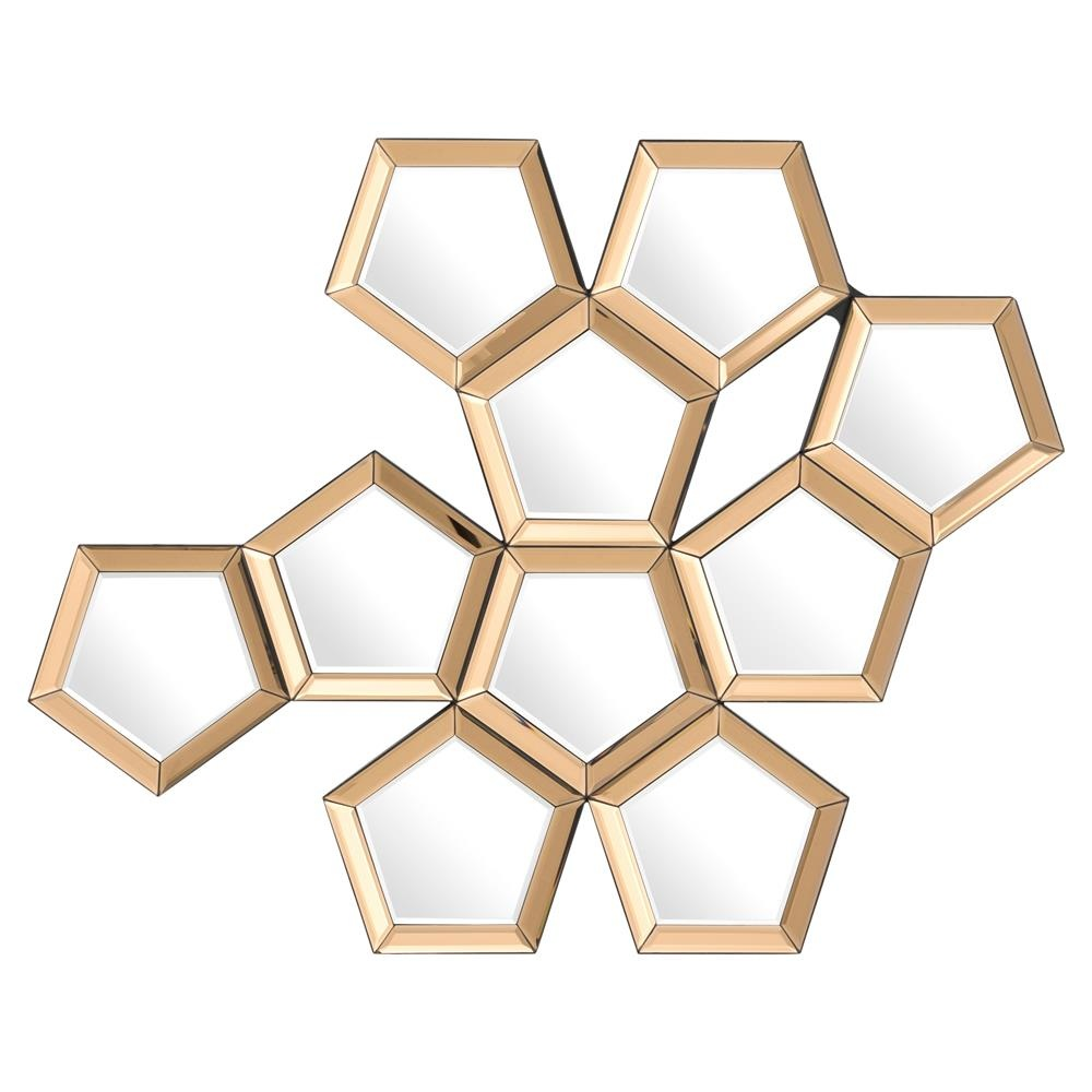 Eichholtz Modern Honeycomb Mirror   $750.00