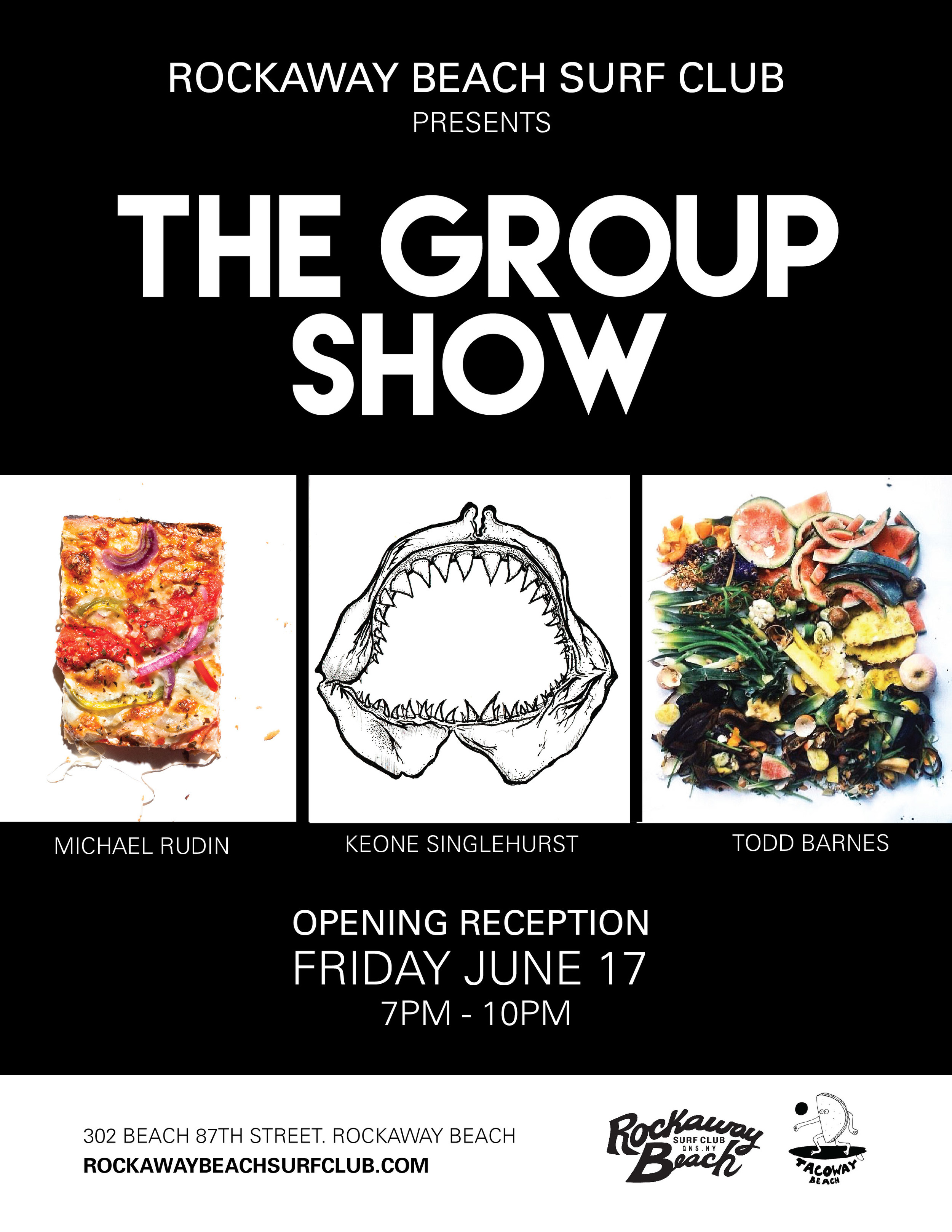 the group show rockaway beach surf club