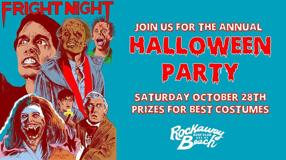 halloween party rockaway beach surf club 2017