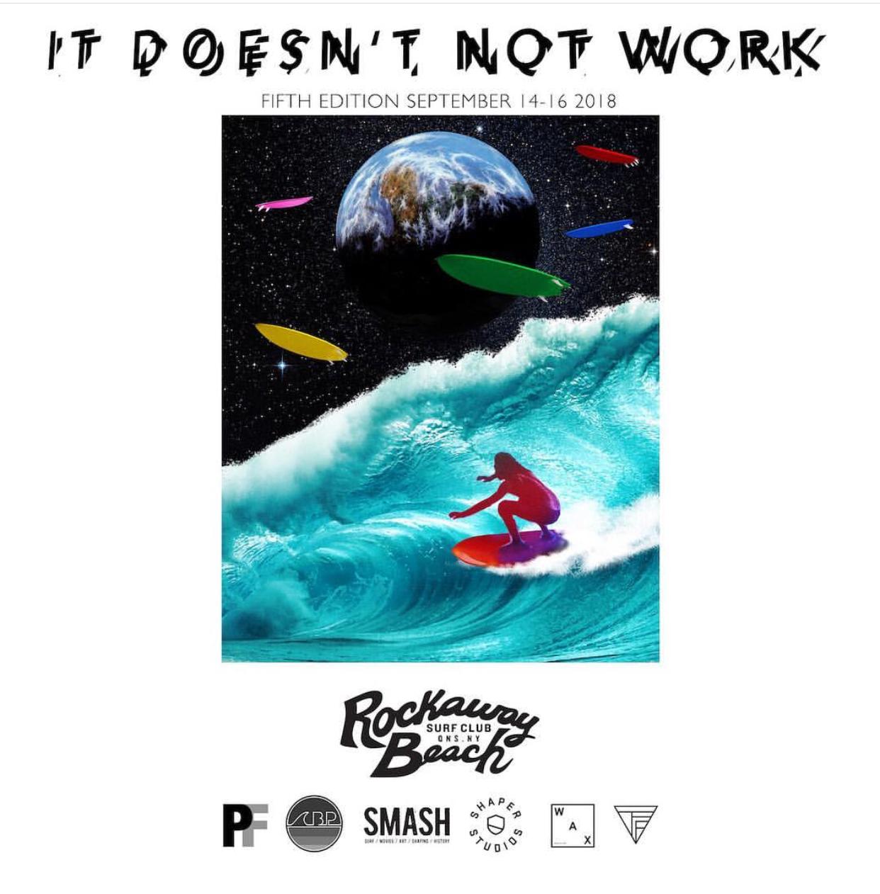 it doesn't not work 2018 rockaway beach surf club