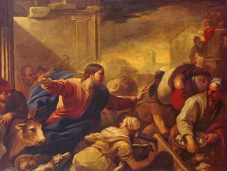 John 2:12-25 Jesus Cleanses The Temple