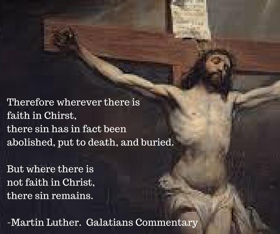 Martin Luther Sermon Romans 6:3-11