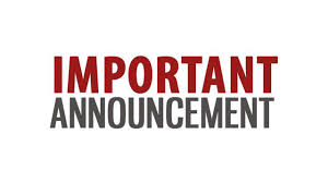 Bulletin Announcements