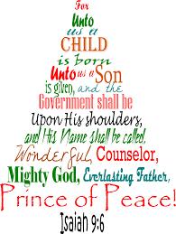 Christmas according to Isaiah