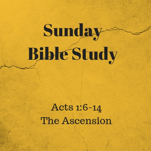 Acts 1 6-14 The Ascension
