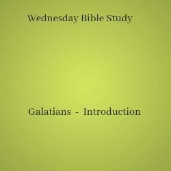 Galatians Introduction