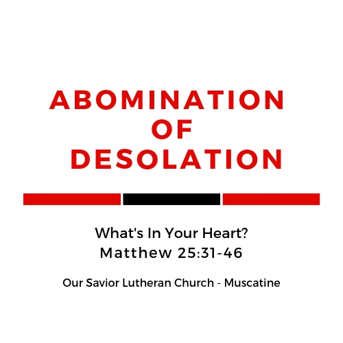 Abomination of Desolation - What's In Your Heart