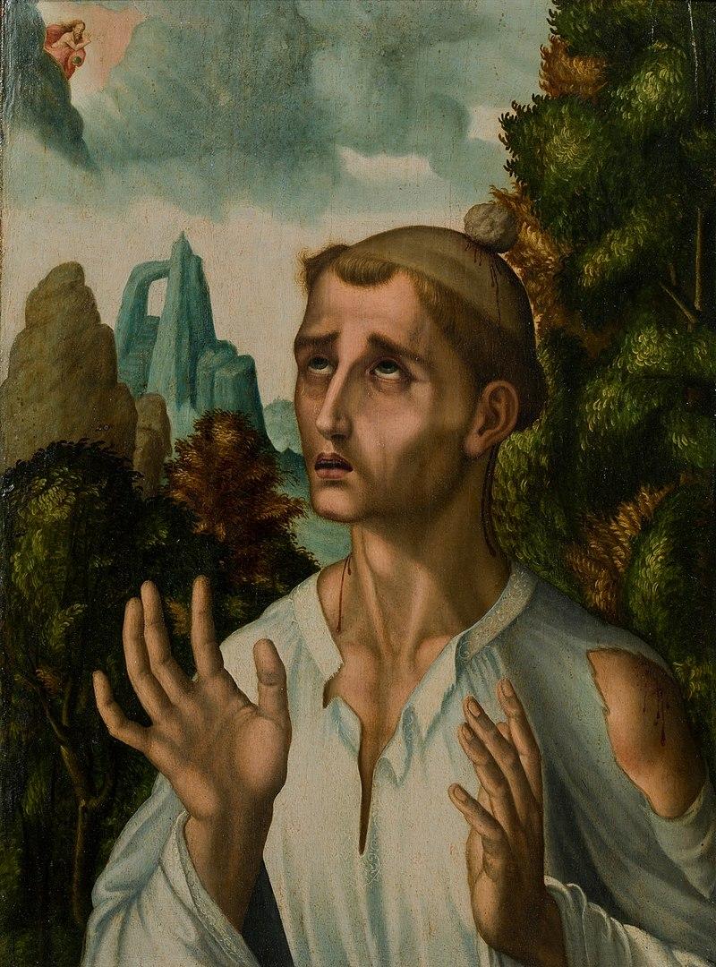 https://en.wikipedia.org/wiki/Saint_Stephen#/media/File:Luis_de_Morales_-_St_Stephen.jpg