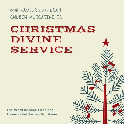 Christmas Day Divine Service