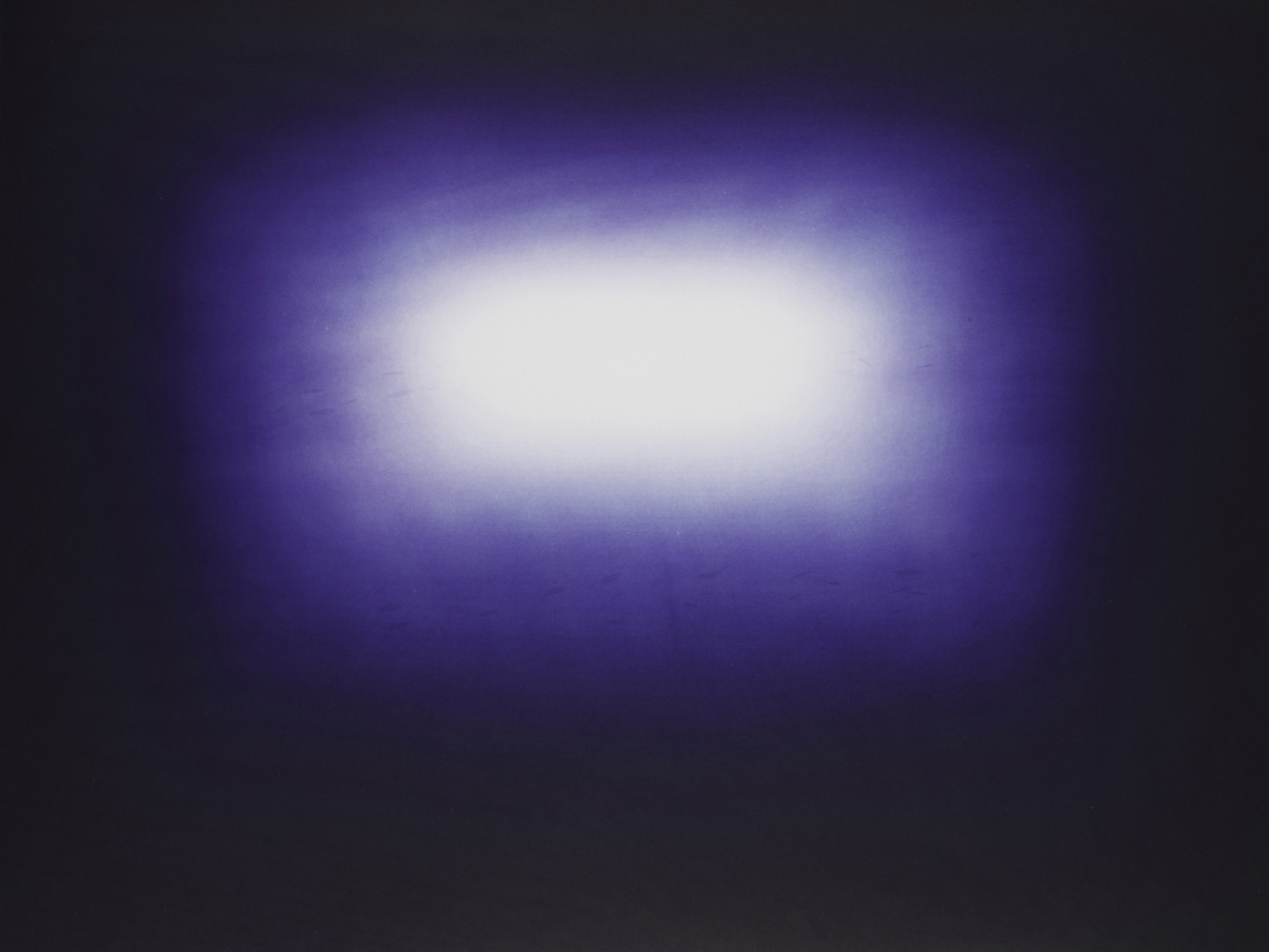 Anish Kapoor  Dark Blue • 2011 Gravura em metal Edição: 39 76.2 x 100 cm
