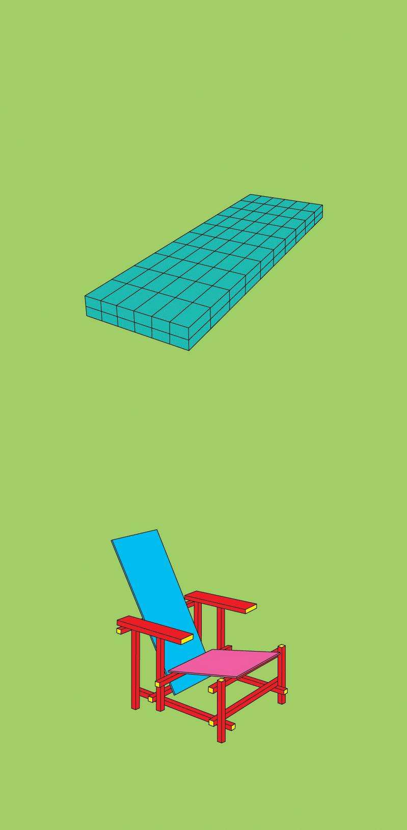 Michael Craig-Martin    Andre • 2012 Serigrafia Edição: 50   100 x 46 cm