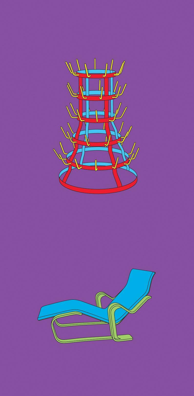 Michael Craig-Martin    Duchamp• 2012 Serigrafia Edição: 50   100 x 46 cm