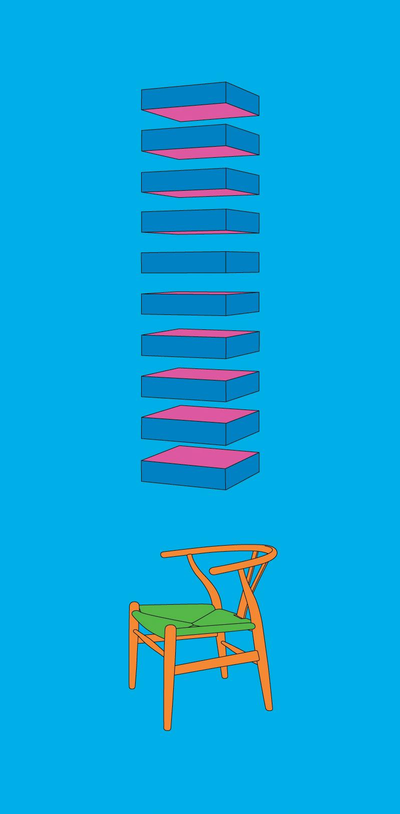 Michael Craig-Martin    Judd• 2012 Serigrafia Edição: 50   100 x 46 cm