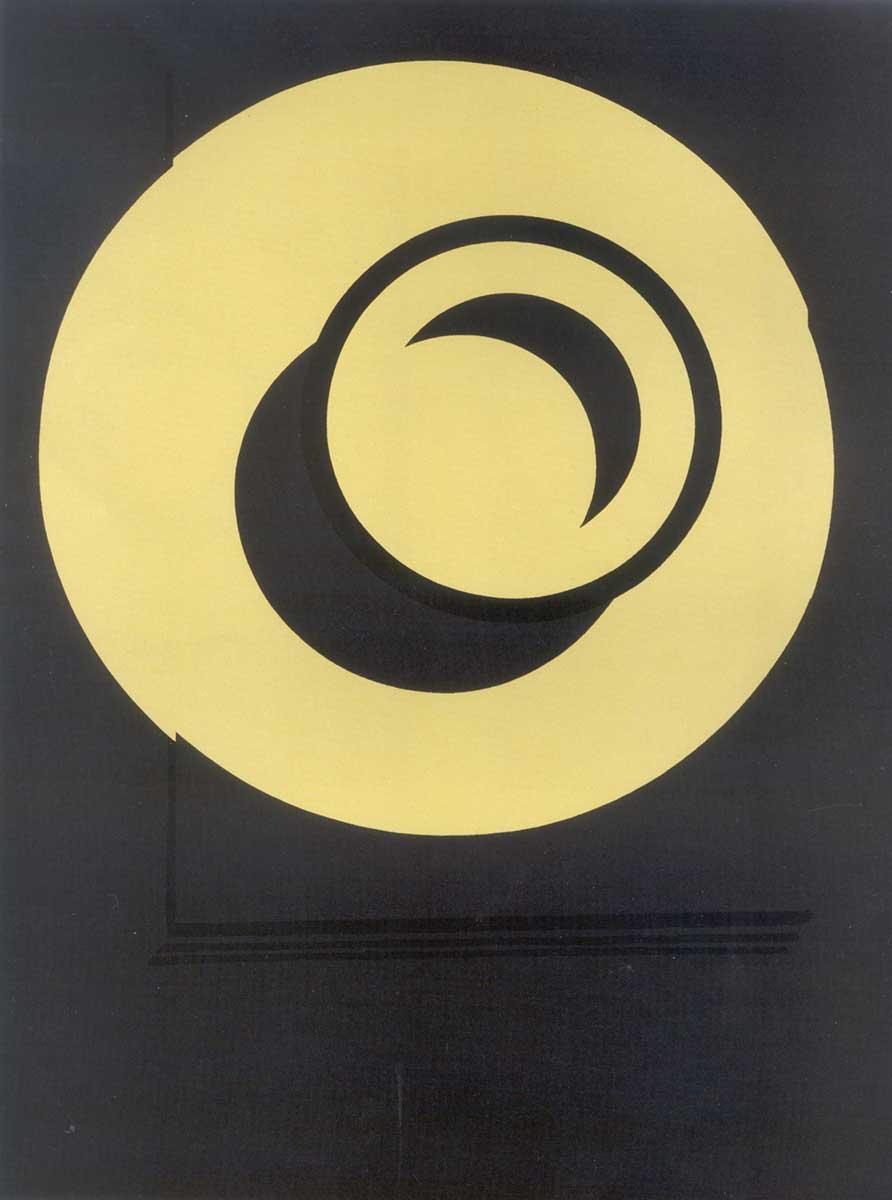 Patrick Caulfied   Wall Plates: Highlights 1987   Serigrafia   Edição: 50   129.4 x 101.5 cm